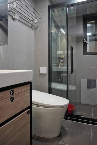 富裕型80平米三室两厅现代简约风格卫生间图片