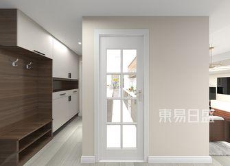 富裕型100平米三室两厅现代简约风格走廊效果图