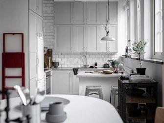经济型60平米公寓欧式风格厨房图