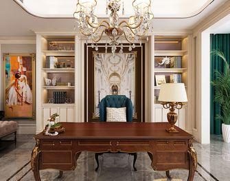 140平米四美式风格书房设计图