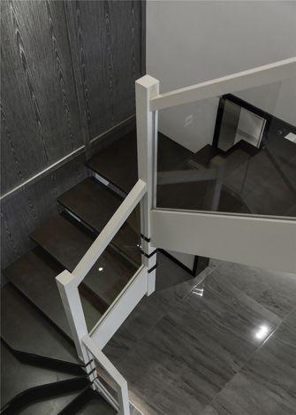 富裕型140平米三室一厅北欧风格楼梯间欣赏图