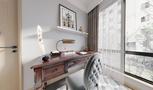 豪华型140平米四室两厅日式风格书房装修效果图