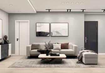 20万以上90平米三室两厅现代简约风格客厅图