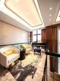 140平米四室三厅现代简约风格阳光房图片