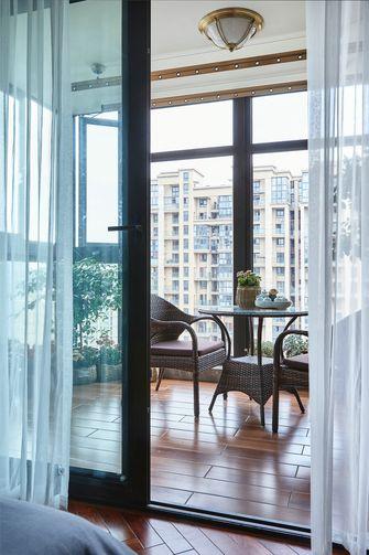 20万以上140平米别墅美式风格阳台欣赏图