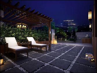 20万以上140平米复式中式风格阳台装修图片大全