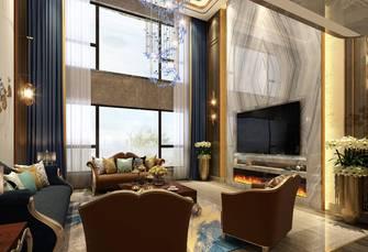 豪华型140平米港式风格客厅图