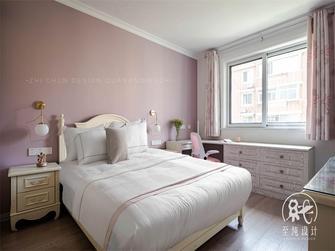 富裕型130平米三室两厅法式风格卧室效果图