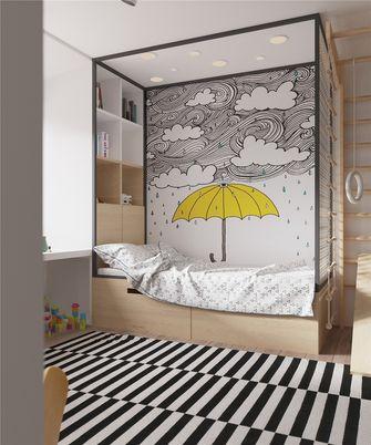10-15万70平米公寓北欧风格青少年房设计图