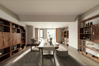 豪华型140平米复式轻奢风格阳光房设计图