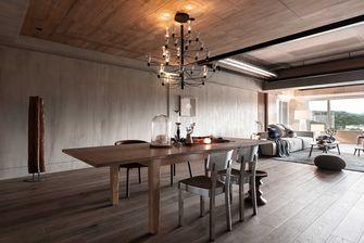 140平米三室三厅工业风风格餐厅装修案例