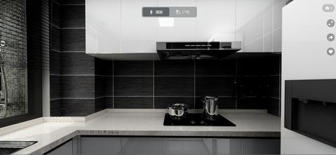 3万以下50平米小户型现代简约风格厨房欣赏图