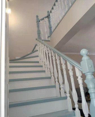 经济型90平米复式现代简约风格楼梯间装修效果图