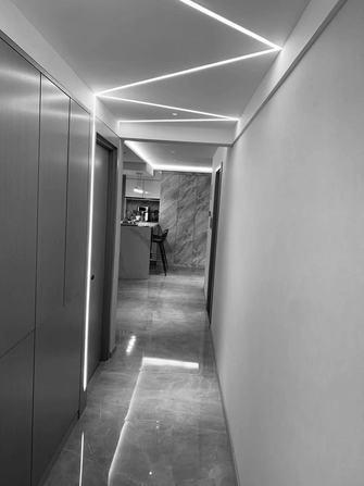 15-20万110平米三室一厅现代简约风格走廊设计图