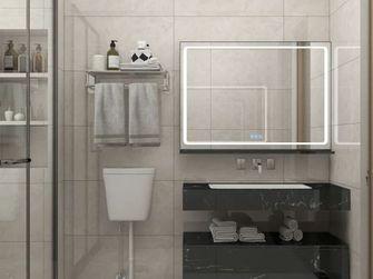 富裕型100平米现代简约风格卫生间装修图片大全