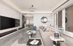 20万以上140平米四现代简约风格客厅装修案例