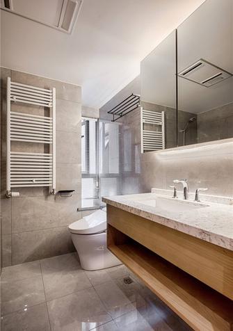 80平米公寓中式风格卫生间图