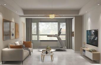 豪华型100平米四室两厅日式风格客厅图