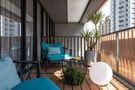 富裕型140平米三室两厅美式风格阳台装修案例