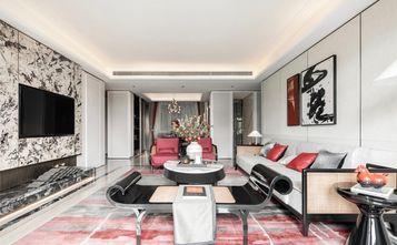 140平米三室一厅中式风格客厅装修案例