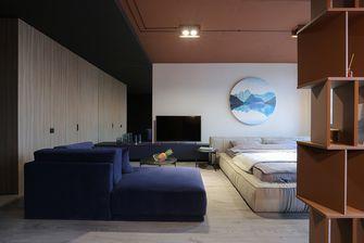 5-10万70平米一居室现代简约风格卧室欣赏图