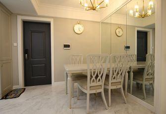 20万以上80平米欧式风格餐厅图片