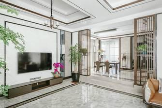 富裕型130平米四室两厅中式风格客厅装修案例