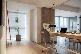 富裕型140平米三室两厅工业风风格书房设计图