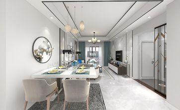 80平米三中式风格客厅装修案例