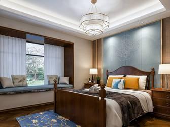 5-10万140平米三室两厅美式风格卧室设计图
