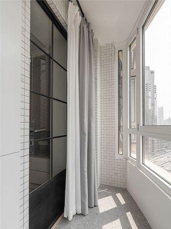 5-10万60平米公寓混搭风格阳台装修效果图