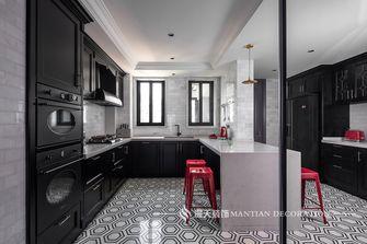 富裕型130平米三室两厅法式风格厨房装修效果图