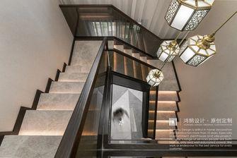 20万以上140平米复式中式风格楼梯间图片大全