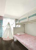 富裕型130平米三室两厅现代简约风格青少年房图片大全