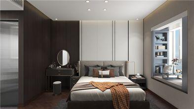 富裕型100平米三室两厅轻奢风格卧室装修图片大全