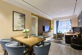 豪华型90平米欧式风格客厅欣赏图