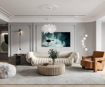 15-20万130平米三室一厅法式风格客厅图