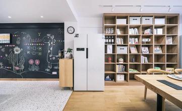 富裕型80平米三室一厅北欧风格客厅欣赏图