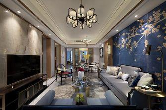富裕型140平米四港式风格客厅图