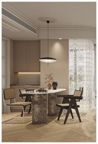 120平米四室四厅法式风格餐厅图片