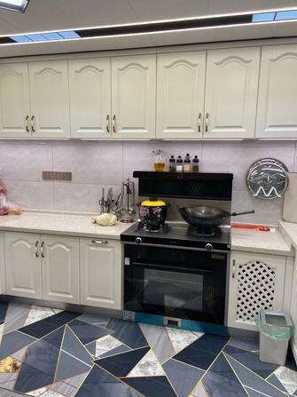 富裕型140平米别墅混搭风格厨房欣赏图