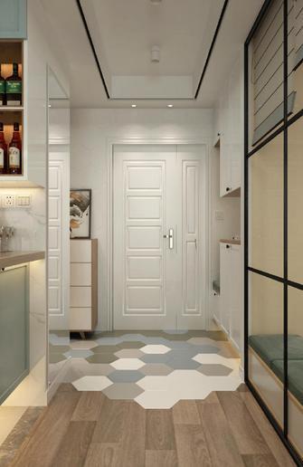 80平米三室两厅北欧风格玄关装修图片大全