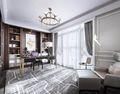 豪华型140平米四室一厅法式风格书房装修效果图