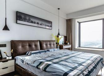 110平米三室两厅现代简约风格卧室图片大全