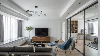 5-10万120平米三室一厅北欧风格客厅欣赏图