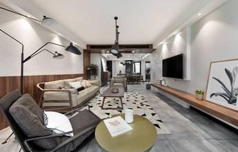 110平米三混搭风格客厅装修效果图