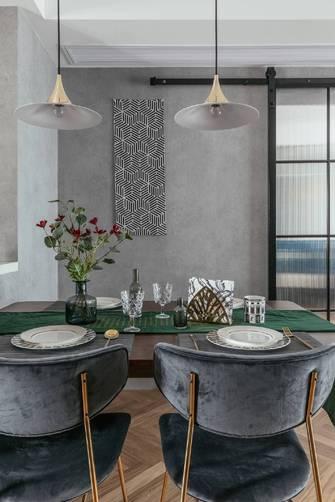 富裕型80平米三轻奢风格餐厅图