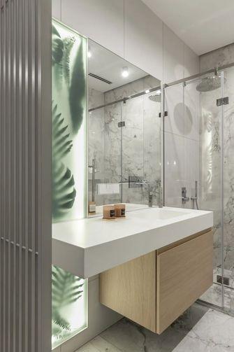 富裕型140平米四室两厅现代简约风格卫生间图片