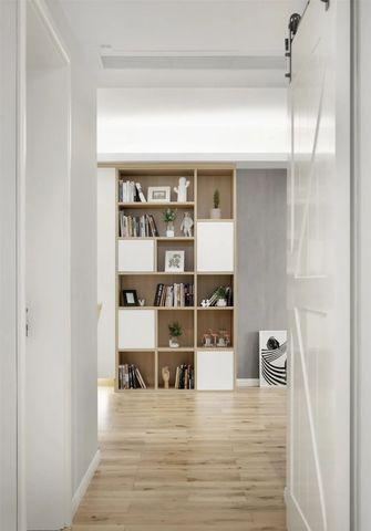 富裕型90平米三室两厅现代简约风格书房装修案例