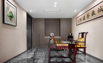 豪华型140平米三室三厅中式风格书房装修图片大全